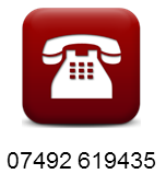 telephone icon with info